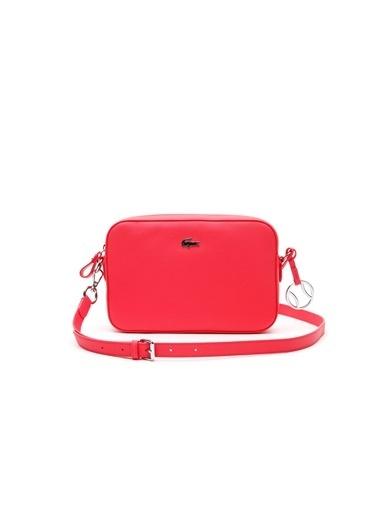 Lacoste Çapraz Çanta Kırmızı